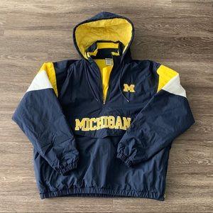 Vintage Michigan Pull Over Jacket
